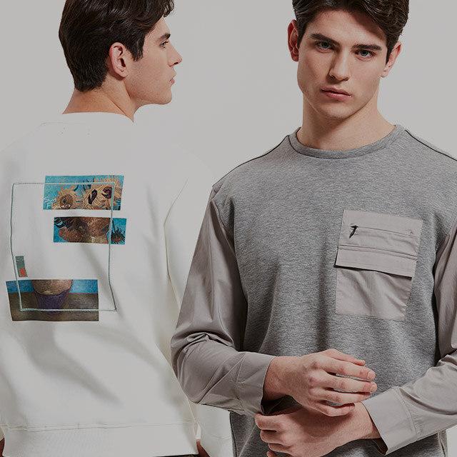 티셔츠 하나로도 확실한 스타일링