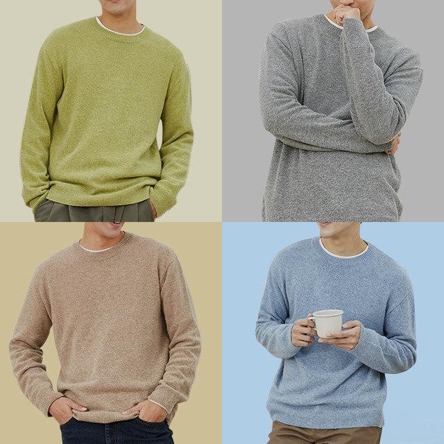 부드럽고 포근한 캐시미어 스웨터